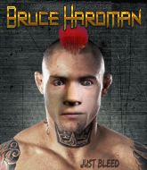 Mixed Martial Arts Fighter - Bruce Hardman