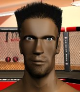 Mixed Martial Arts Fighter - Johnny Saint
