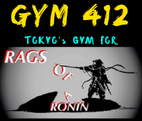 Gym 412-RoaR sponsored training facility  - Mixed Martial Arts Gym, Tokyo